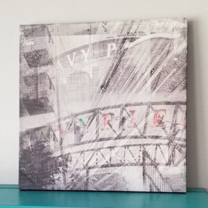 "Navy Pier - Chicago 13"" Canvas Wall Art -  Photo Collage"