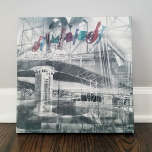 "Milwaukee 13"" Canvas - Summerfest Grounds - Photo Collage Wall Art"