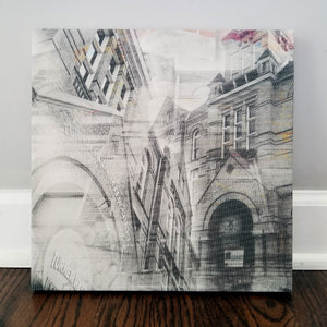 "Milwaukee 13"" Canvas - Turner Hall - Photo Collage Wall Art"