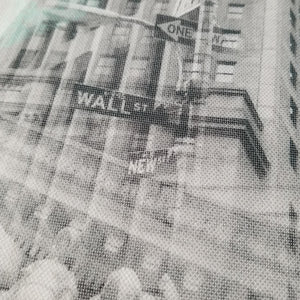 "New York 13"" Canvas - Wall Street - Photo Collage Wall Art"