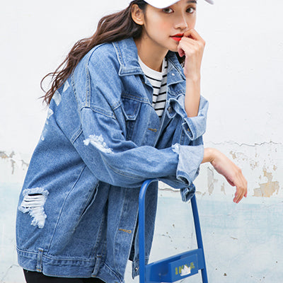 COWBOY DENIM JACKET - FLYHYPE