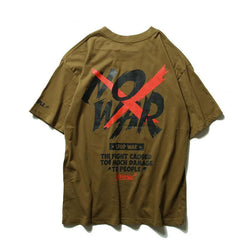 NO WAR Printed T-Shirt