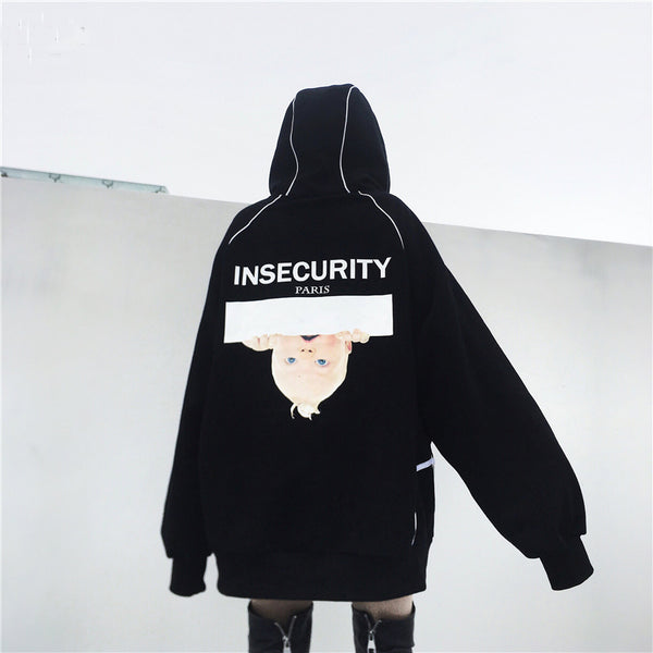 INSECURITY HOODIE - FLYHYPE