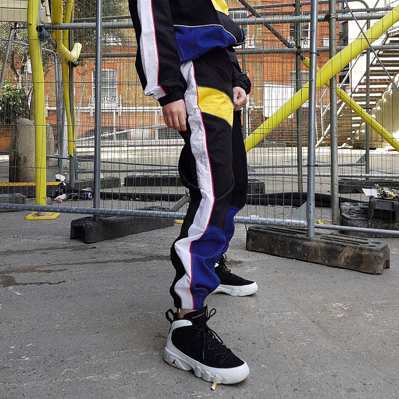 PATCHWORK PANTS - FLYHYPE
