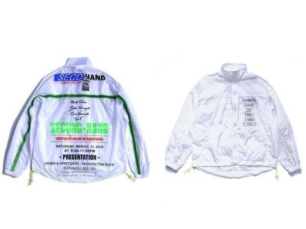 3M REFLECTIVE STRIPE JACKET