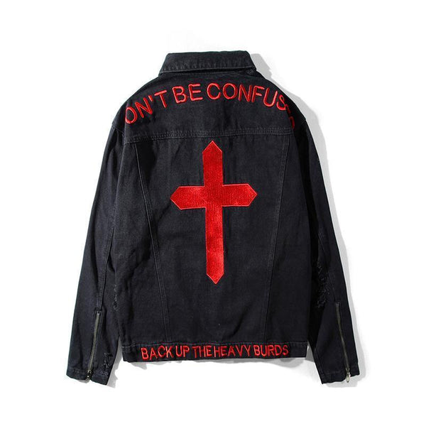 """DON'T BE CONFUSED"" Denim Jackets"