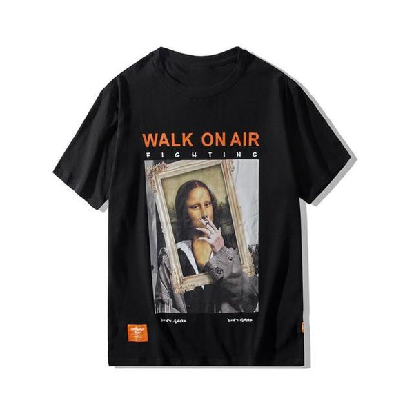 SMOKING MONA LISA T-SHIRT