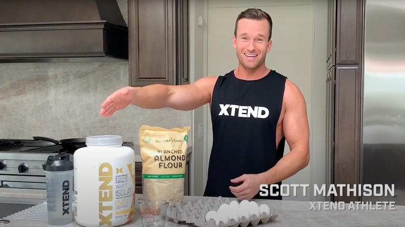 RECIPE: XTEND PROtein Pancakes by Scott Mathison