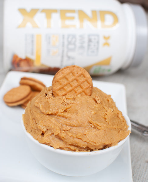 Cookie Butter Protein Cookie Dough
