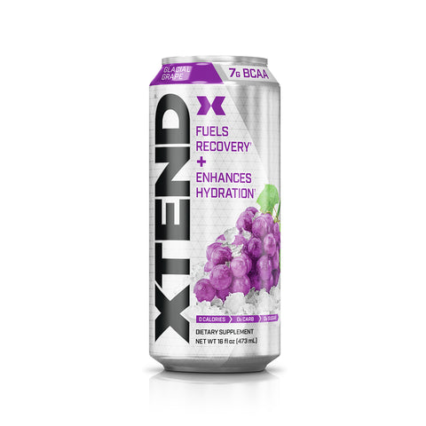 XTEND Glacial Grape-Carbonated-12 Pack-Glacial Grape-XTEND