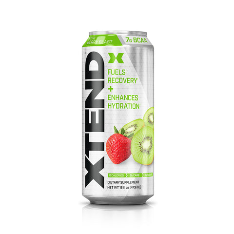 XTEND Kiwi Berry Blast-Carbonated-12 Pack-Kiwi Berry-XTEND