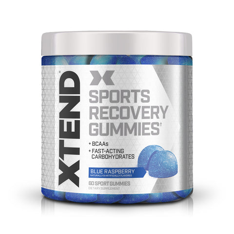 XTEND Gummies Blue Raspberry-Gummies-Blue Raspberry-60 Sport Gummies-XTEND