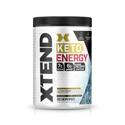 XTEND KETO Energy Ultra Frost-20 Servings-KETO Energy