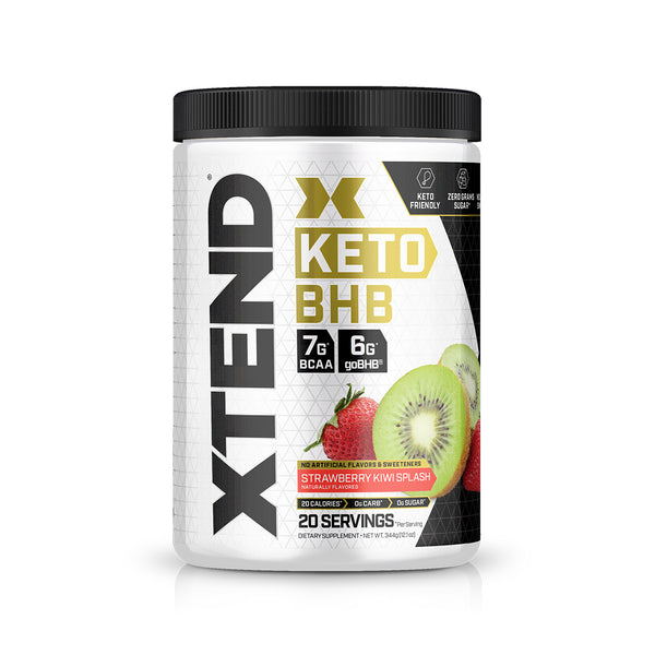 XTEND KETO Strawberry Kiwi-20 Servings-KETO