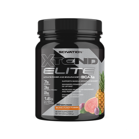 XTEND Elite Island Punch Fusion-Elite-30 Servings-Island Punch Fusion-XTEND