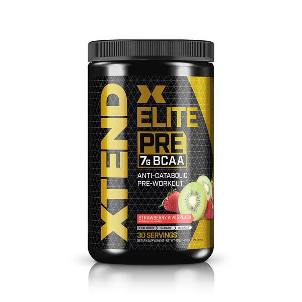 XTEND Elite Pre Strawberry Kiwi Splash-Elite Pre-30 Servings-Strawberry Kiwi Splash-XTEND