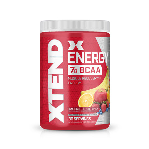 XTEND Energy Knockout Fruit Punch-Energy-30 Servings-Knockout Fruit Punch-XTEND
