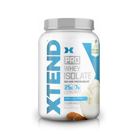 XTEND Pro Vanilla Ice Cream-Protein-15 Servings-Vanilla Ice Cream-XTEND