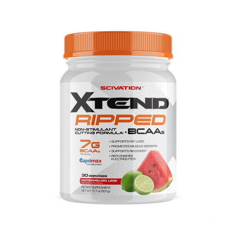 XTEND Ripped Watermelon Lime-Ripped-30 Servings-Watermelon Lime-XTEND