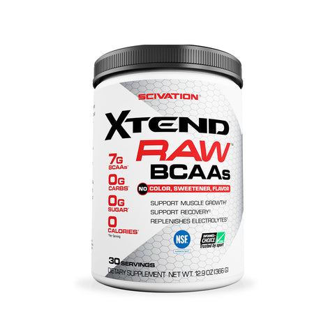 XTEND Raw Unflavored-Discontinued-30 Servings-Unflavored-XTEND