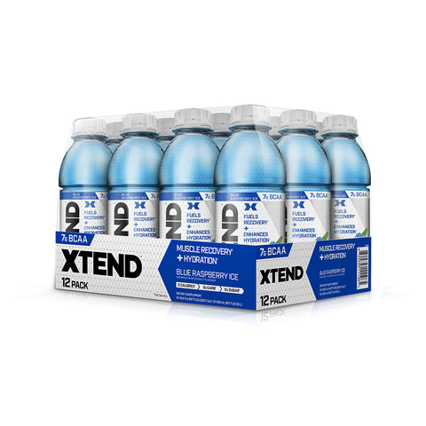 XTEND Blue Raspberry Ice-Still-12 Pack-Blue Raspberry Ice-XTEND