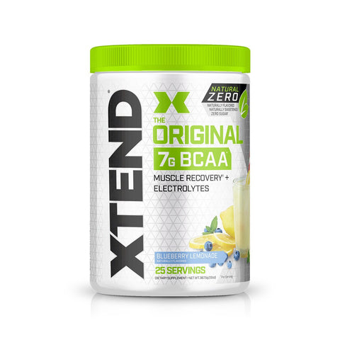 XTEND Natural Zero Blueberry Lemonade-Natural Zero-25 Servings-Blueberry Lemonade-XTEND