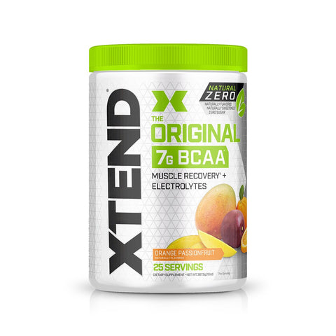 XTEND Natural Zero Orange Passionfruit-Natural Zero-25 Servings-Orange Passionfruit-XTEND
