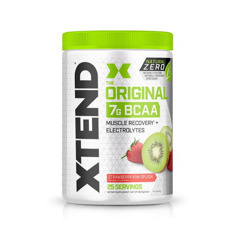 XTEND Natural Zero Strawberry Kiwi Splash-Natural Zero-25 Servings-Strawberry Kiwi Splash-XTEND