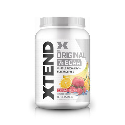 XTEND Knockout Fruit Punch-Original-90 Servings-Knockout Fruit Punch-XTEND