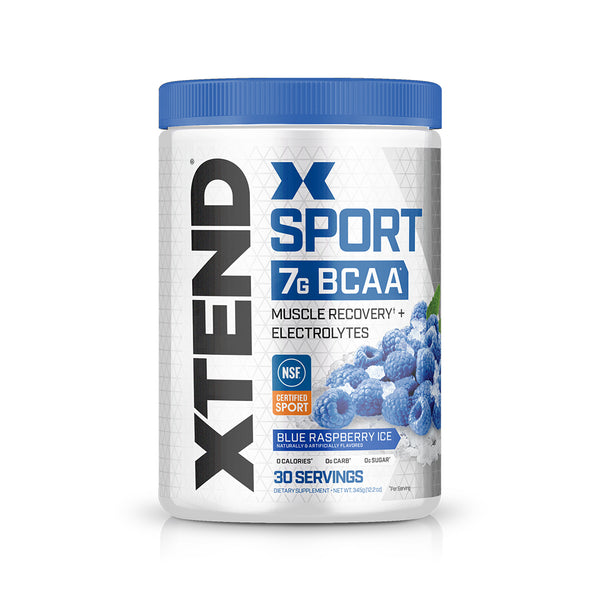 XTEND Sport Blue Raspberry Ice-Sport-30 Servings-Blue Raspberry Ice-XTEND