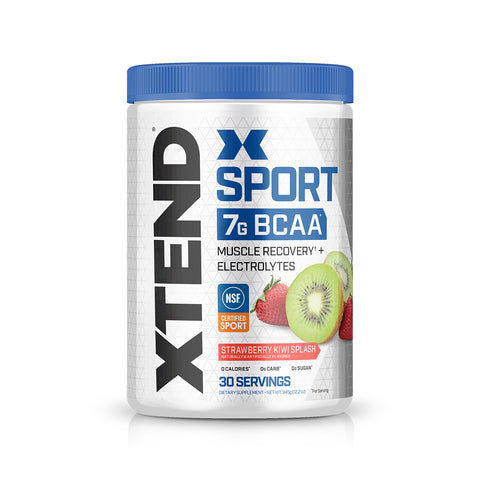 XTEND Sport Strawberry Kiwi Splash-Sport-30 Servings-Strawberry Kiwi Splash-XTEND