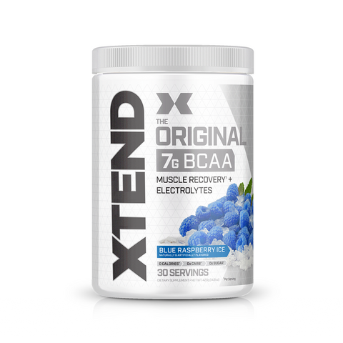 XTEND Blue Raspberry Ice-Original-30 Servings-Blue Raspberry Ice-XTEND