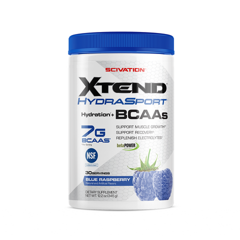 XTEND HydraSport Blue Raspberry-Sport-30 Servings-Blue Raspberry-XTEND