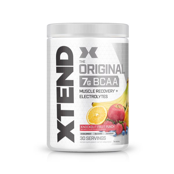 XTEND Knockout Fruit Punch-Original-30 Servings-Knockout Fruit Punch-XTEND
