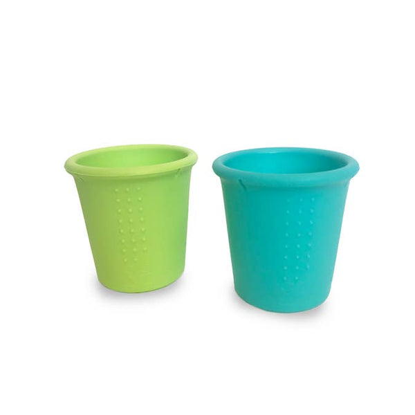 8oz Cups 2 Pack Set - Sea/Lime