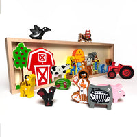 The Farm A To Z Puzzle & Playset