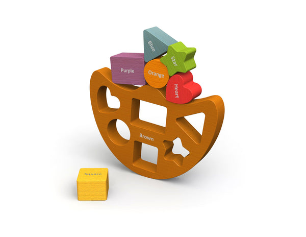 Balance Boat Shapes & Colors Playset
