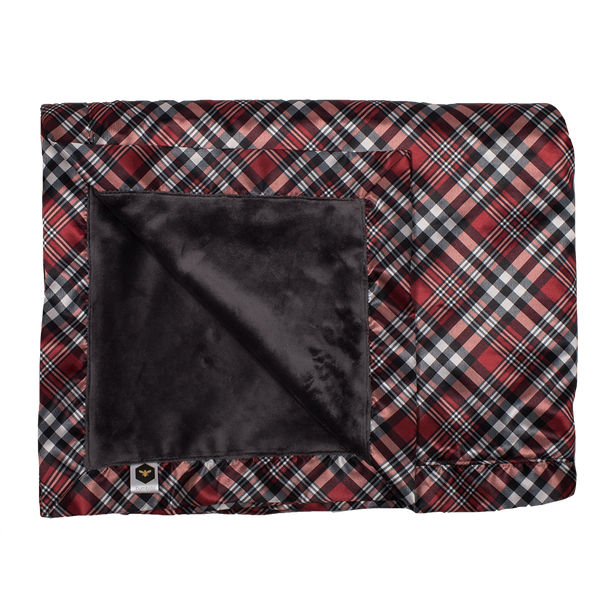 Bee Luxe Blanket - Yule Love This Plaid