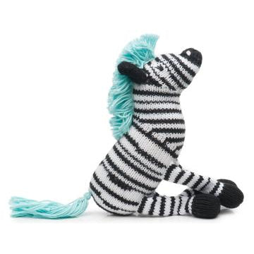 Rattle Buddy - Daisy The Zebra