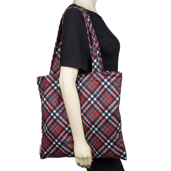 Tote Bag - Yule Love This Plaid