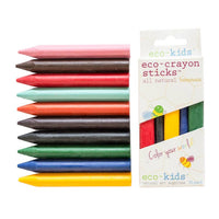 eco-crayon sticks 10-Pack