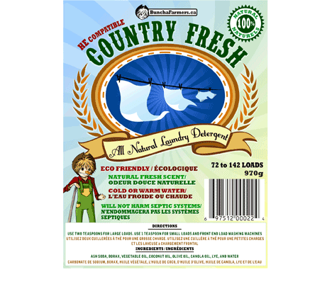 Country Fresh Laundry Detergent