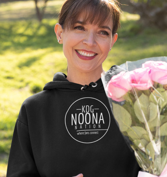 20205 Noona Nation Where Fans Connect In Circle Hoodie Black