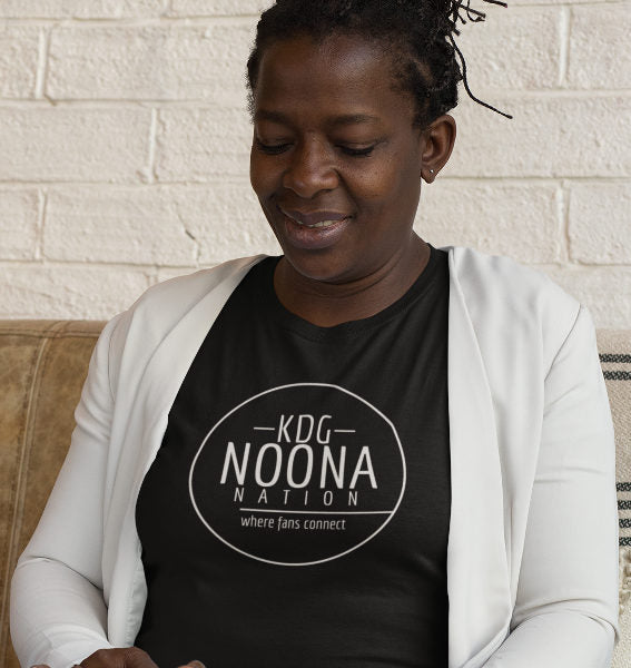 20205 Noona Nation Where Fans Connect In Circle TShirt Black