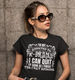 Im Not Addiected To KDrama I Can Quit As Soon As I Finish The Next Episode T-Shirt Black