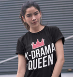K-Drama Queen T-Shirt Black