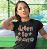 Listen To Noona TShirt Black