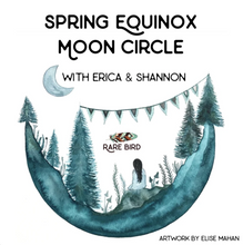 Load image into Gallery viewer, Spring Equinox Moon Circle