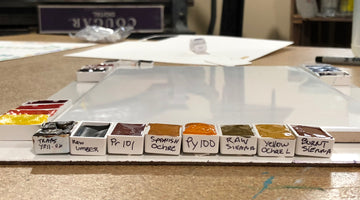DIY Studio watercolor palette