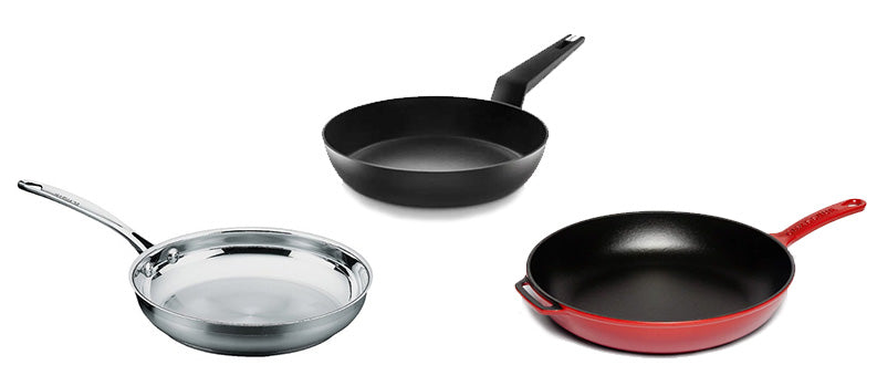 A guide to Frying Pans: Non-Stick or Stainless Steel, Cleaning and Care